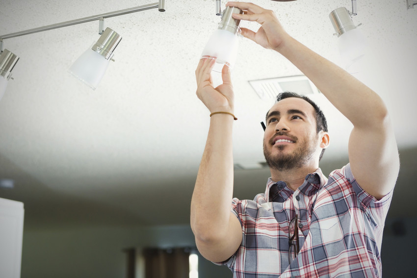 replacing lightbulbs to improve home value